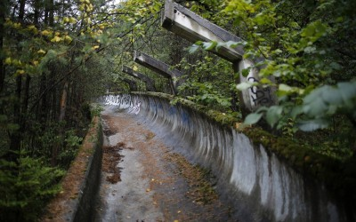 What Sochi Will Look Like in 30 Years: Shocking Photos of Abandoned Olympics Site