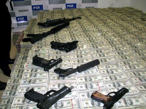 Mexican Drug Lord Mansion Raided: You're Gonna Flip When You See What They Confiscated