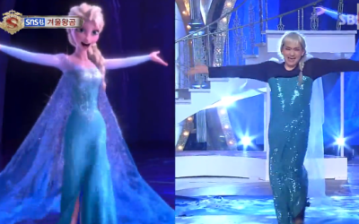 "Korean TV Contestant Recreates ""Let It Go"" Shot-by-Shot – and It's Hilarious"