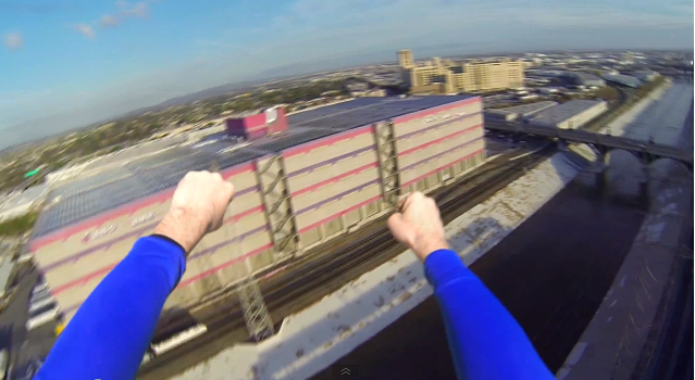 Ever Wanted to Know What It Feels Like to Fly Like Superman?
