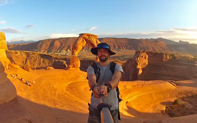 "In Three Years He's Seen Most of the World – And These 360 Degree ""Selfies"" Prove It"