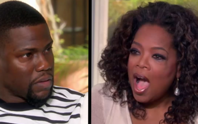 Kevin Hart Renders Oprah Speechless: How A Bible Saved Him From Homelessness