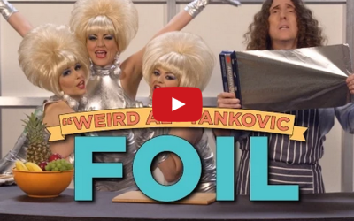 """Weird Al Day 3: Lorde's """"Royals"""" Becomes Ode To Take Out In """"Foil"""""""