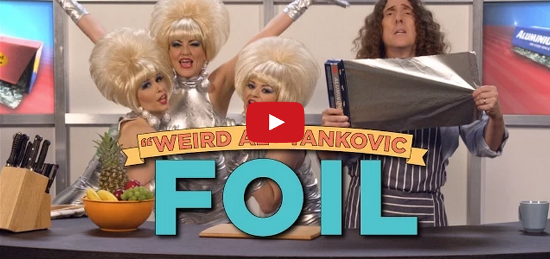 "Weird Al Day 3: Lorde's ""Royals"" Becomes Ode To Take Out In ""Foil"""