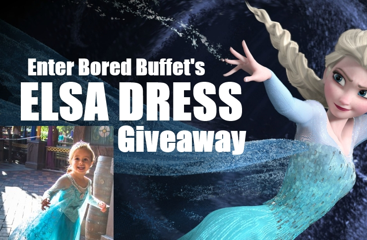 Don't Miss our Elsa Dress Giveaway thru September 14!