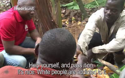 See The Viral Video Where Cocoa Farmers Taste Chocolate For The First Time