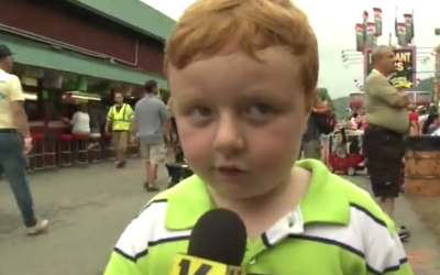 "Adorable Little Kid ""Apparently"" Steals the Show On Live TV – Hilarious!"