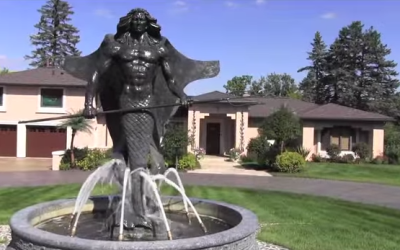 The Statue Out Front is Weird, But You Won't Believe What's Inside This Bizarre House – and It's For Sale!