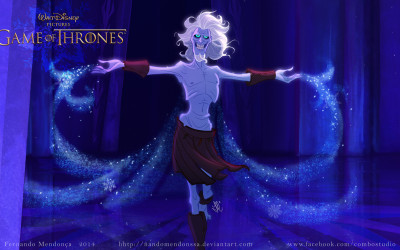 Gorgeous Art Shows What Game of Thrones Would Look Like as a Disney Movie