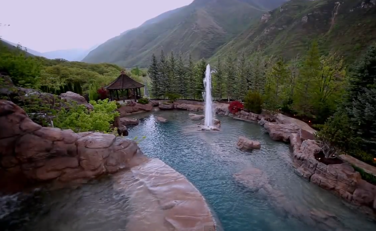 Does Your Pool Have a Mountain? No? All You Need Is $2 Million