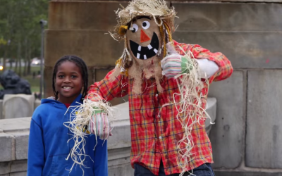 Trusting People Snap Pics with a Dancing Scarecrow – Then The Mask Comes Off…