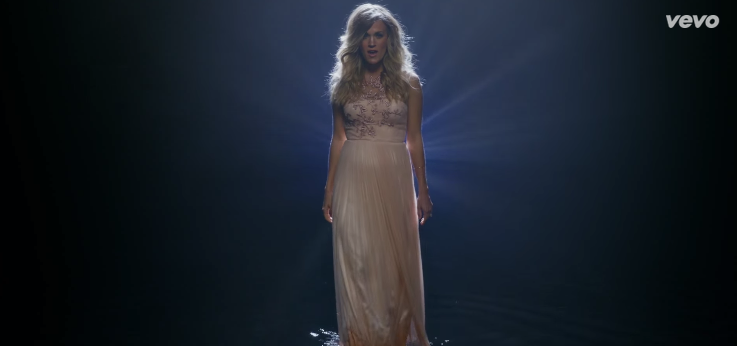 Gorgeous New Carrie Underwood Single Celebrates Grace