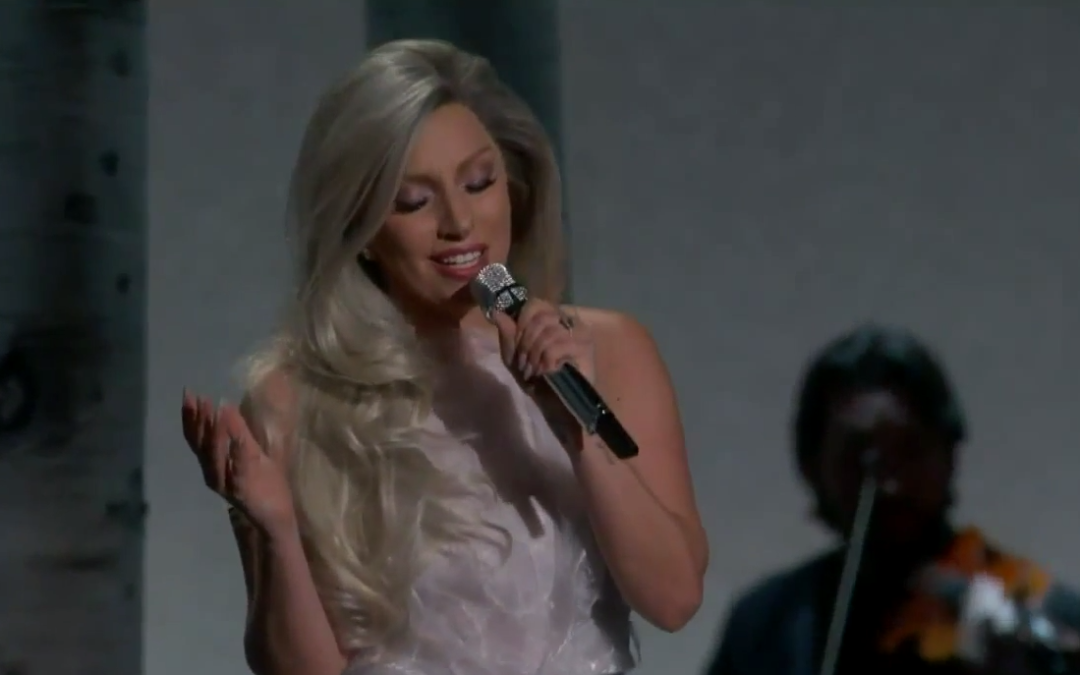Must-See Stunning Performance from Lady Gaga Wins Oscar Night