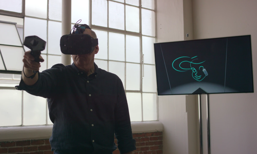 Watch Master Disney Animator Draw The Little Mermaid In Live 3D Space