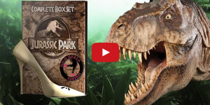 """Jurassic Park: High Heels Edition"" Puts Everyone (Dinos Too) in Stilettos…And It's Everything"