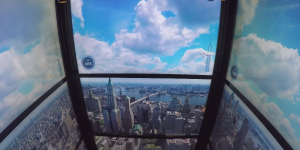 New World Trade Center Elevator Wows With Exhilarating Skyline Time Lapse