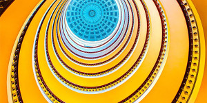 Prepare To Be Mesmerized: 30 Incredible Shots of Spiral Stairways